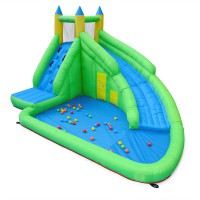 Aire de jeux gonflable for Piscine a balle gifi