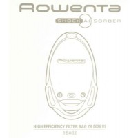 Sac aspirateur rowenta zr002601 shock absorber
