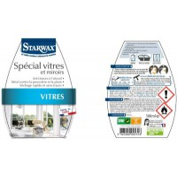 Nettoyant starwax special vitres anti-traces alcool 500ml