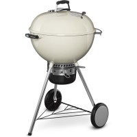 Barbecue charbon weber master touch gbs 57cm ivory white