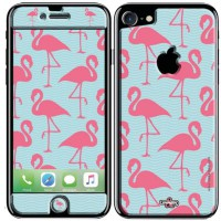 Sticker upperandco iphone 7 flamand rose