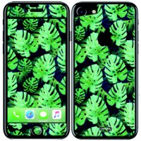Sticker upperandco iphone 7 palmier tropical