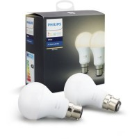 Ampoule connectable philips pack x2 b22 hue white