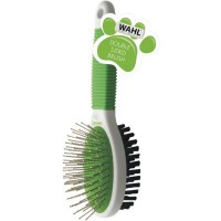 Brosse pour chien wahl pour animaux double brosse sided
