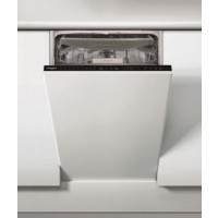 Lave vaisselle tout intégrable 45 cm whirlpool wsip4o23pfe