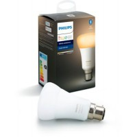 Ampoule connectée philips b22 hue white & ambiance