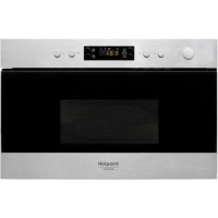 Micro ondes encastrable hotpoint mn212ix + four encastrable hotpoint fa2 540p bl ha