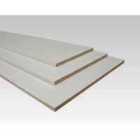 Tablette blanche 16mm 200x30