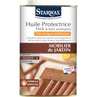 Huile teck très longue protection starwax 750ml