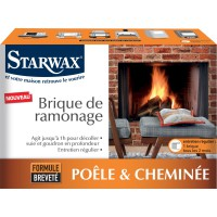 Brique de ramonage starwax