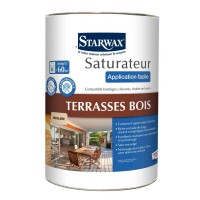 Saturateur starwax application facile phase aqueuse incolore 5l