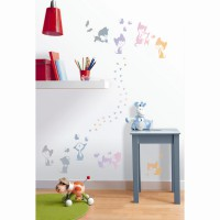 Stickers hologramme mimi m