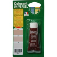 Colorant universel 25ml sienne calcinée