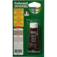 Colorant universel 25ml ombre calcinée