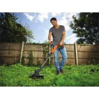 Coupe bordure black & decker 18v 4ah 28 cm