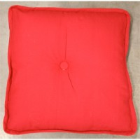 Coussin chicago rouge