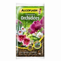 Terreau orchidées algoflash 6 l