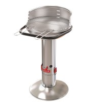 Barbecue à charbon de bois barbecook loewy 50 sst inox
