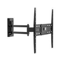 Support tv inclinable et orientable grand angle meliconi edr-400 flat, vesa 400