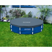 Bâche de protection intex 3m66 pour piscine ronde