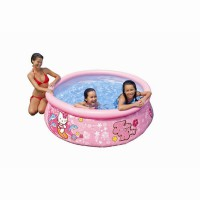 Piscine gonflable ronde intex easy set hello kitty 183 x 51 cm