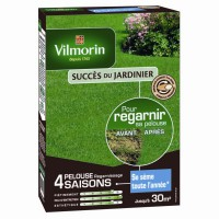 Gazon regarnissage vilmorin 4 saisons 1kg 30m2