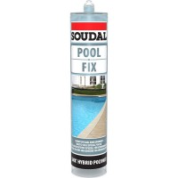 Mastic colle soudal pool fix special piscine 290ml