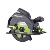 Scie circulaire evolution power tools f165ccsl 165mm 1200w