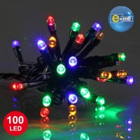 Guirlande 100led 5mm fv 4m