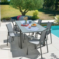 Table de jardin montana 2 aluminium