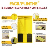 Kit de pose - plinthes et parquet passat facil' plinthes