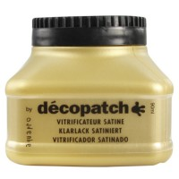 Vernis vitrificateur satiné décopatch 90 ml
