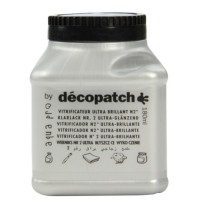 Vernis vitrificateur ultra brillant décopatch 180 ml