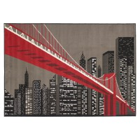 Tapis pop city 60x110 cm