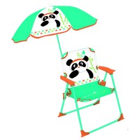 Chaise parasol indian panda fun house