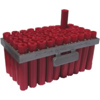 50 chevilles grilles red head rouges Ø6x35mm