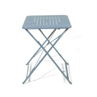 Table pliante denver gris orage