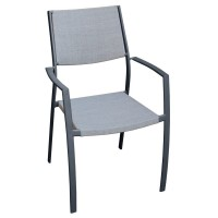 Fauteuil norway gris clair