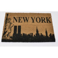 Paillasson coco motif new york