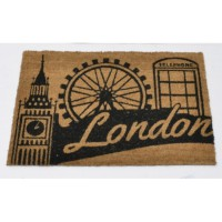 Paillasson coco motif london