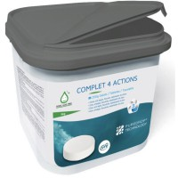 Chlore 4 actions 4kg sans acide borique