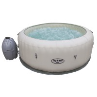Spa gonflable rond bestway lay-z-spa paris 4/6 places