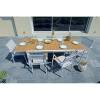 Table de jardin mode de vie extensible long beach
