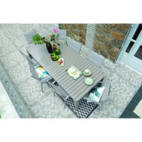 Table de jardin mode de vie extensible buffalo