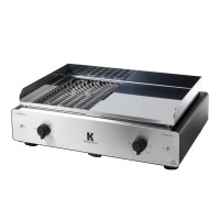 Barbecue plancha krampouz k 2en1 3500w