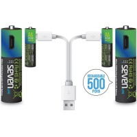 Pile aa hr06 rechargeable usb