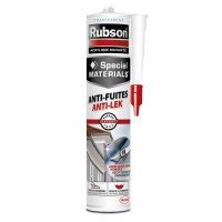 Mastic spécial materials rubson anti-fuites transparent 280ml
