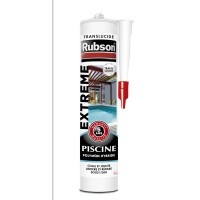 Mastic extrême rubson piscine transparent 280ml