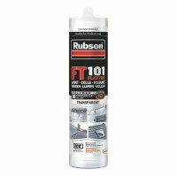Mastic ft rubson 101 joint fissure colle translucide 280ml