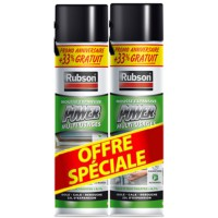 Lot de 2 mousses expansives rubson 2x300ml + 33% gratuit